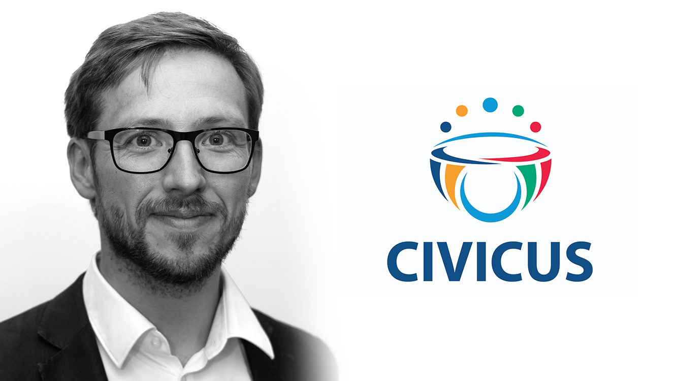 Antoine Vergne's interview on Civicus