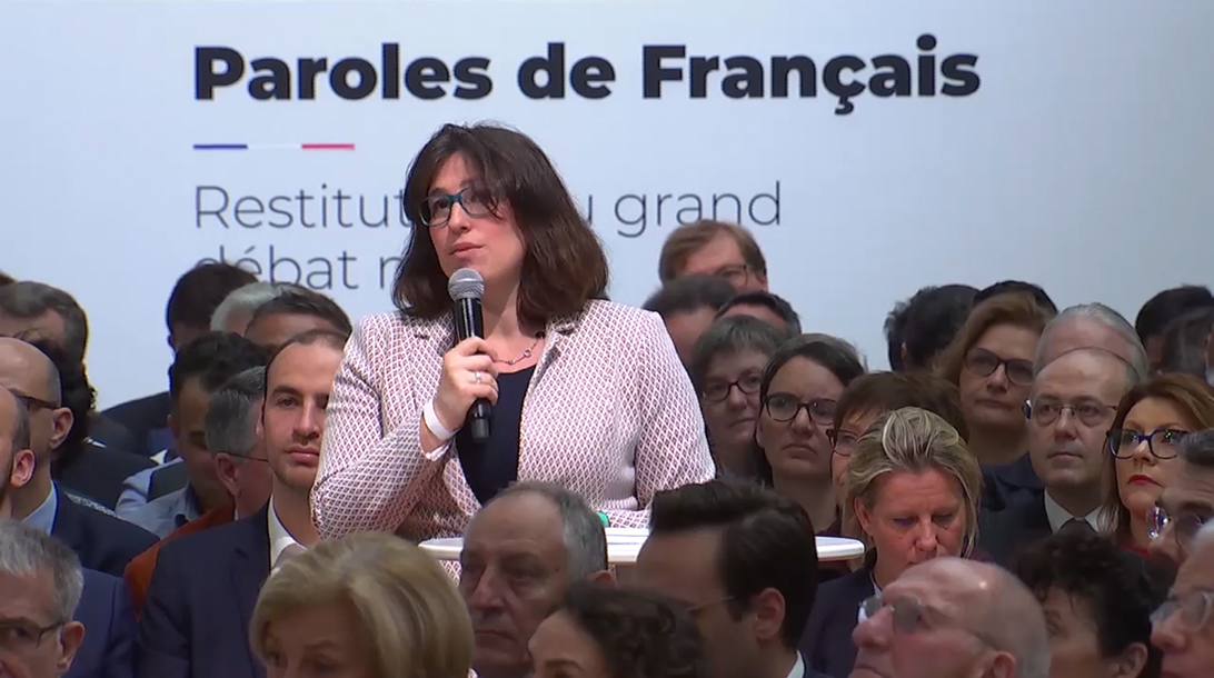 Grand Débat National 2019 : intervention de Judith Ferrando