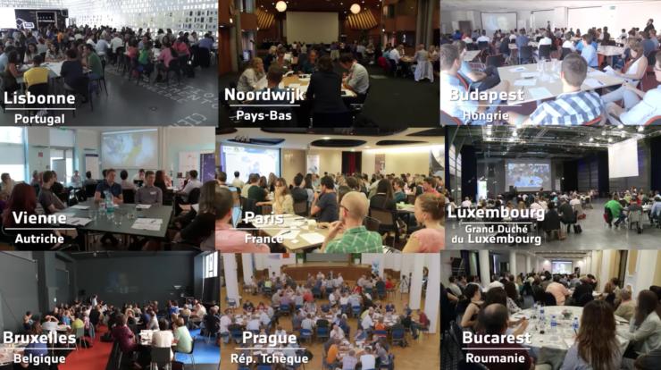 Débat citoyen sur l'espace pour l'Europe : les participants ont la parole
